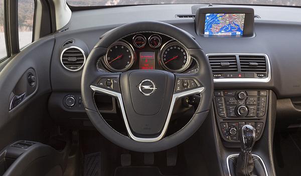 Opel Meriva 2014 interior