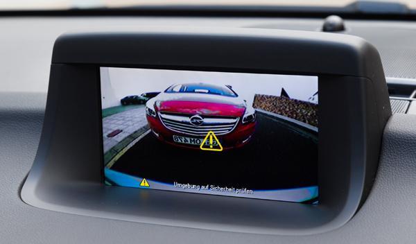 Opel Meriva 2014 interior camara