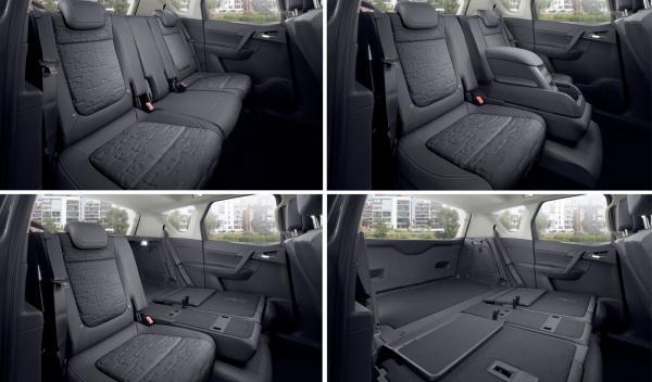 Opel Meriva 2014 maletero