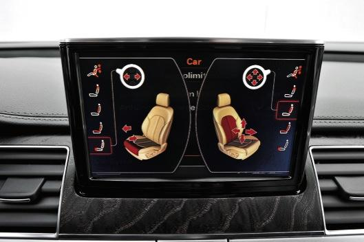 BMW Serie 7 Audi A8 asientos Audi