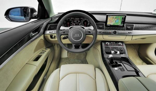 BMW Serie 7 Audi A8 cuadro Audi