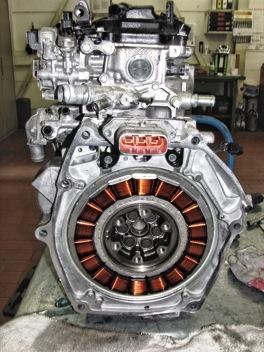 Honda Jazz bloque eléctrico