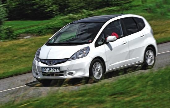 Honda Jazz frontal