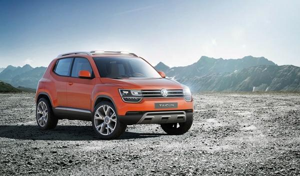Volkswagen Taigun 2014, frontal