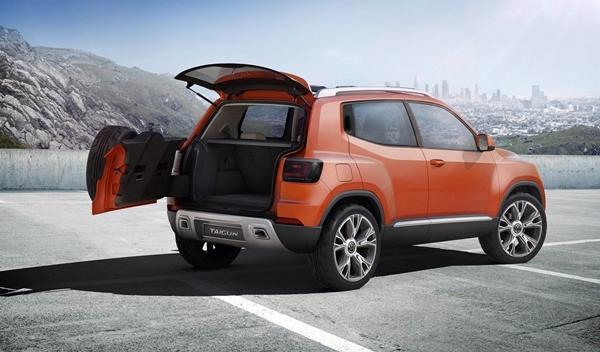 Volkswagen Taigun 2014, luneta trasera