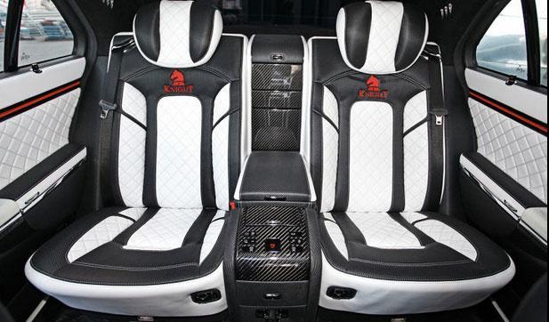 Maybach Knight Luxury asientos traseros