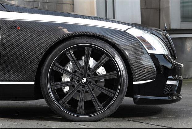 Maybach Knight Luxury carbono