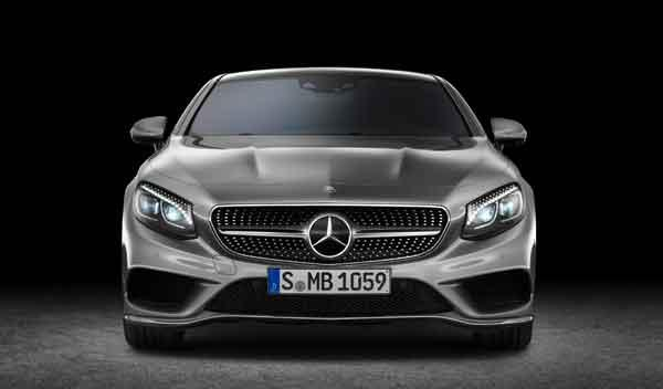Mercedes Clase S Coupé frontal