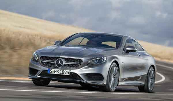 Mercedes Clase S Coupé movimiento