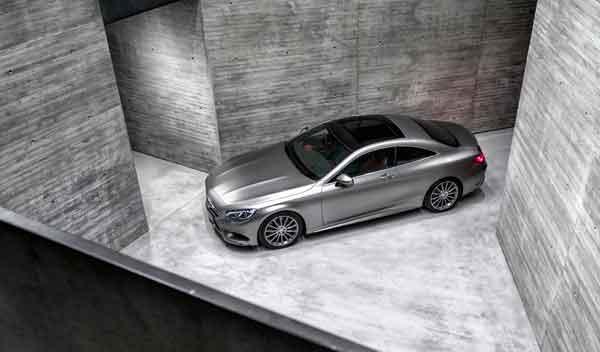 Mercedes Clase S Coupé techo