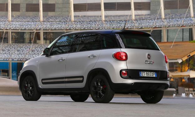 Fiat 500L Beats Edition trasera