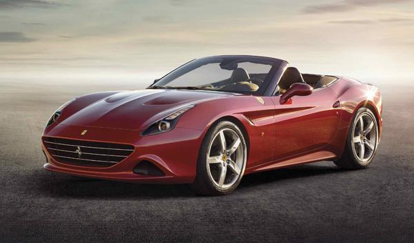 Ferrari California T delantera