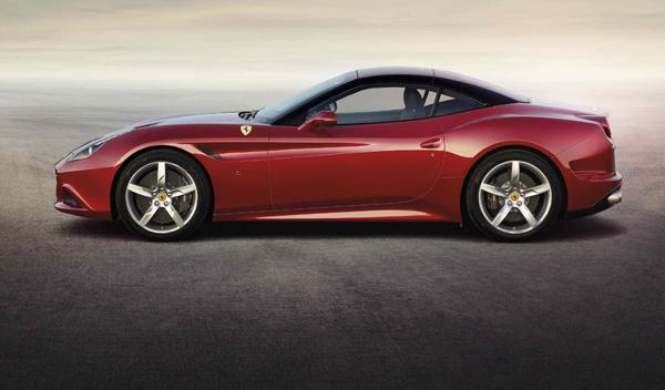 Ferrari California T lateral