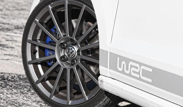 Volkswagen Polo R WRC rueda