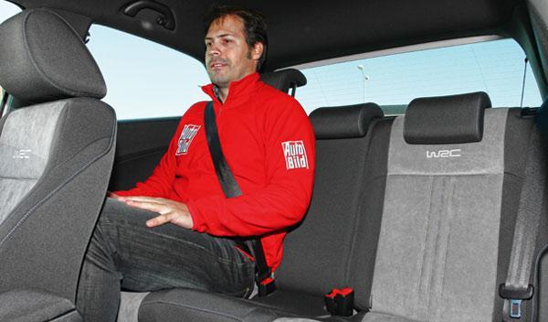 Volkswagen Polo R WRC asientos