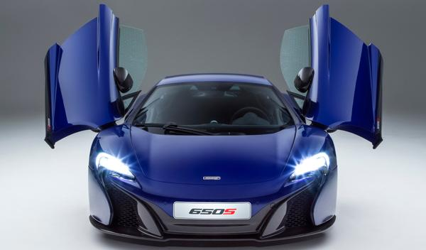 McLaren 650S Coupé frontal 1