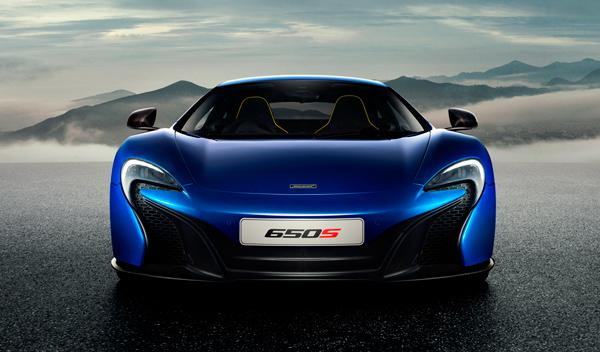 McLaren 650S Coupé frontal 2