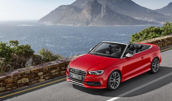 Audi S3 Cabrio tres cuartos