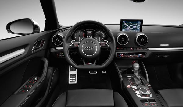 Audi S3 Cabrio salpicadero