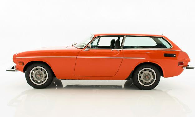 Volvo P1800 lateral