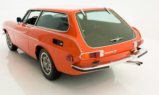 Volvo P1800 trasera