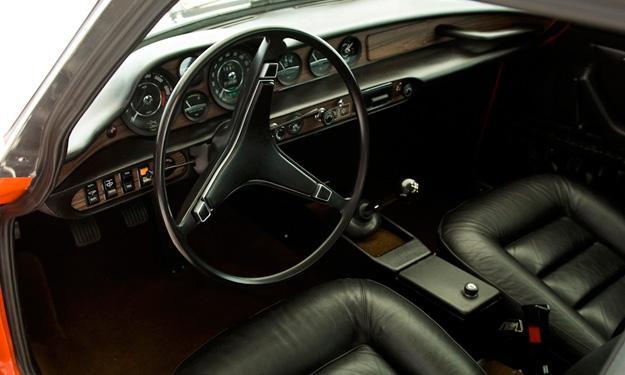 Volvo P1800 interior
