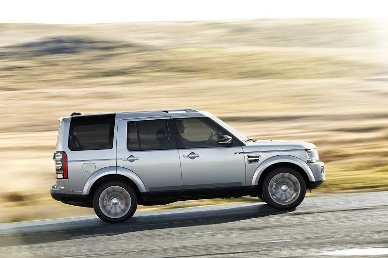 Land Rover Discovery 'XXV Special Edition' lateral
