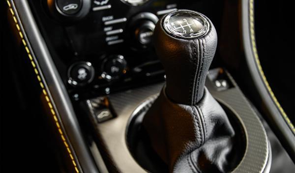 El cambio del Vantage N430 es un 'Sportshift ll'6 de siete relaciones
