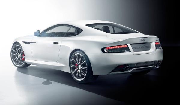 El Aston Martin DB9 Carbon White no se podrá comprar en norteamérica