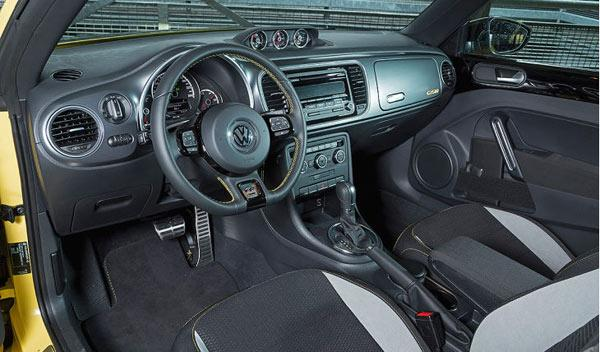 Beetle GSR interior
