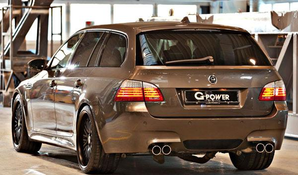G-Power M5 Hurricane RR trasera