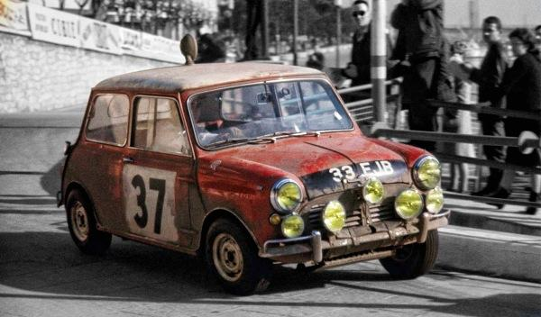 Mini Cooper S Rally de Montecarlo 1964