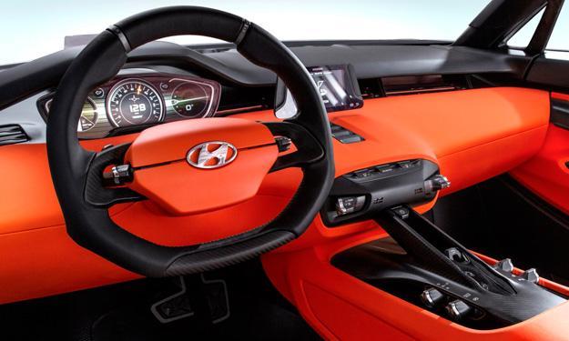 Hyundai Intrado interior