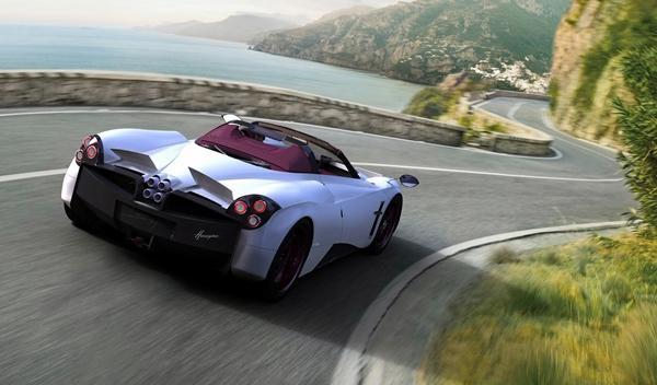 Primeros render del Pagani Huayra Roadster, por Aldo Maria Sica