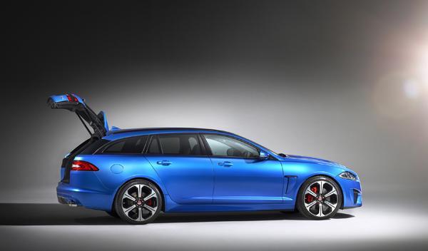 Jaguar XFR-S Sportbrake Ginebra lateral