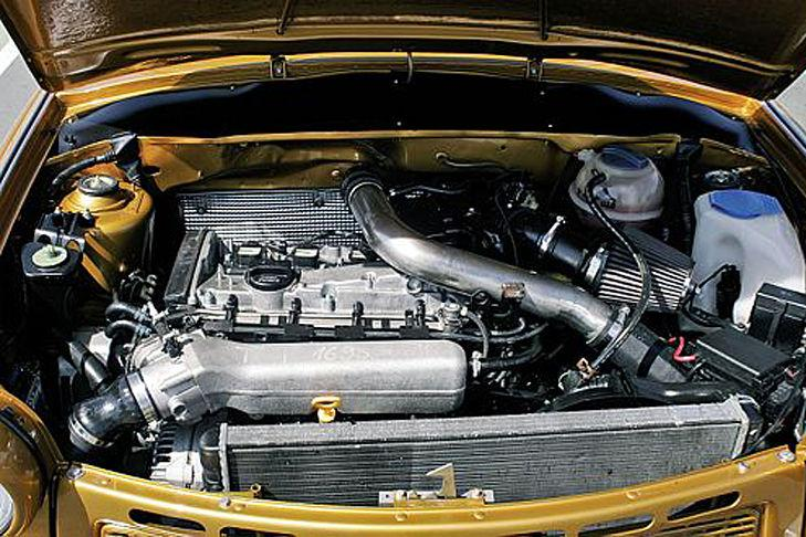 Trabant deportivo motor