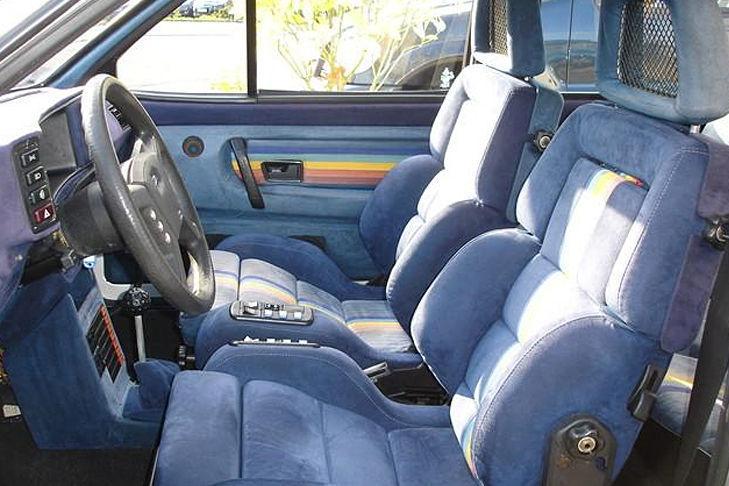 VW Polo Buchmann interior