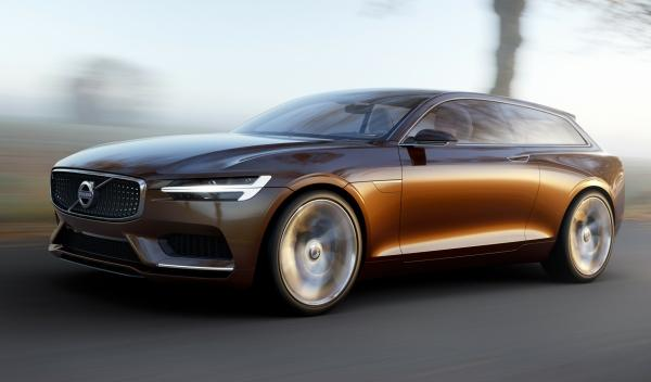 Frontal del Volvo Concept Estate
