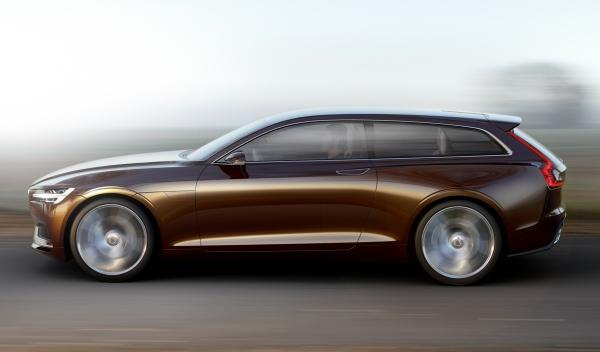 Lateral del Volvo Concept Estate