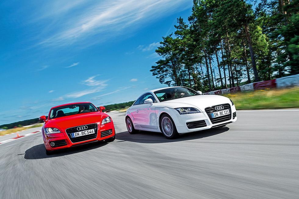 Audi TT 2.0 TFSI y 2.0 TFSI quattro