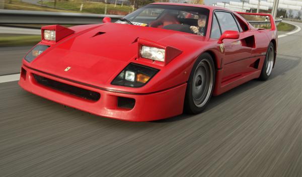 Entre la colección de coches de Jordi Pujol Ferrusola hay un Ferrari F40