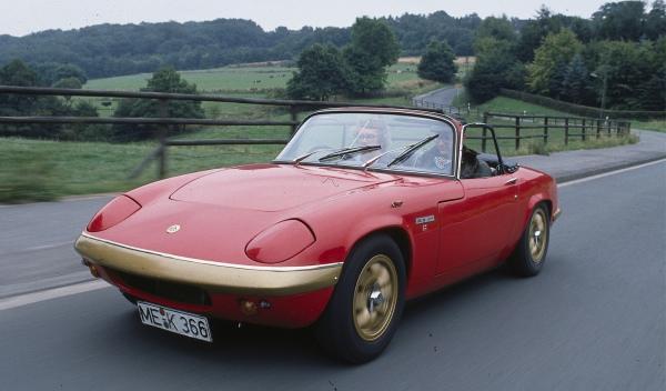Entre la colección de coches de Jordi Pujol Ferrusola habría un Lotus Elan