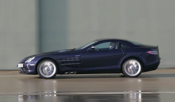Entre la colección de coches de Jordi Pujol Ferrusola habría un Mercedes SLR