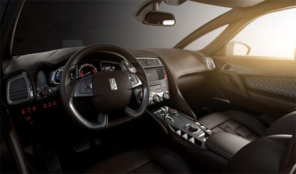 Citroën DS5 interior