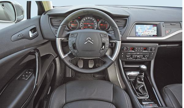 Citroën C5 Tourer prueba larga duración interior salpicadero