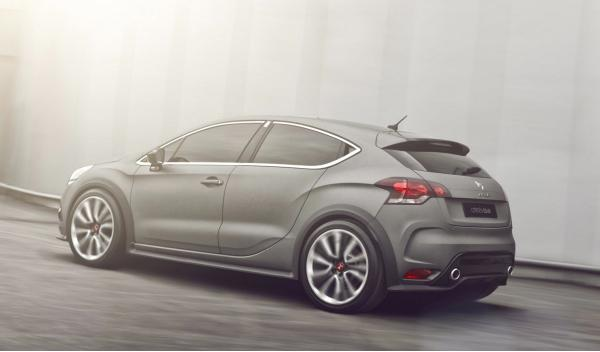 Citroën DS4 Racing Concept trasera