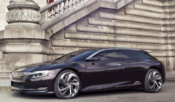 Citroën Número 9 Concept perfil