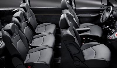 Citroen C8 interior