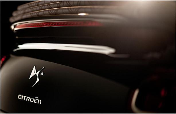 Citroën DS3 Cabrio luz superior trasera de freno