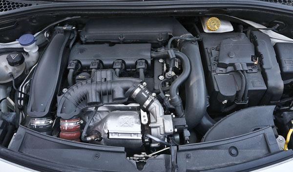 Citroën DS3 THP motor